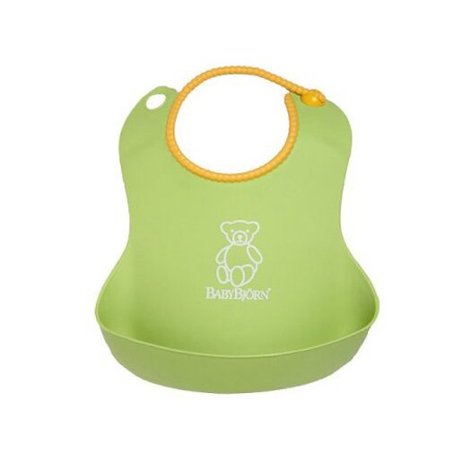 BabyBjorn Soft Bib in Green