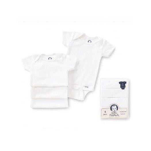 Gerber Baby Care Newborn Organic bodysuits (Pack of 4)