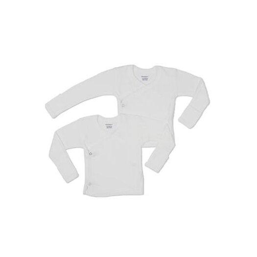 Gerber Baby Care Side Snap Mitt Cuff Shirt, 2 Pack