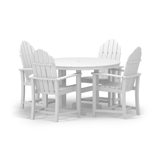 POLYWOOD® Classic 5 Piece Dining Set