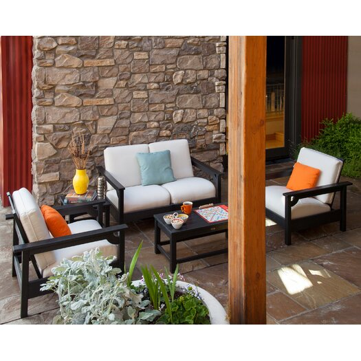 POLYWOOD® Club Deep Seating Chair
