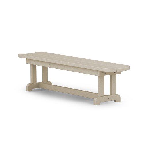 POLYWOOD® Park Harvester Wood Picnic Bench