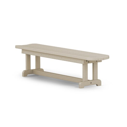 POLYWOOD® Park Harvester Wood Picnic Bench