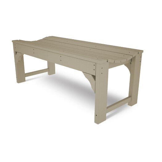 POLYWOOD® Traditional Wood Gadern Bench
