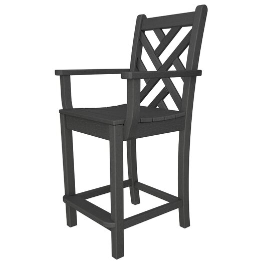 "POLYWOOD® Chippendale 24"" Barstool"