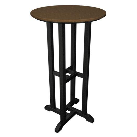 POLYWOOD® Contempo Round Bar Table