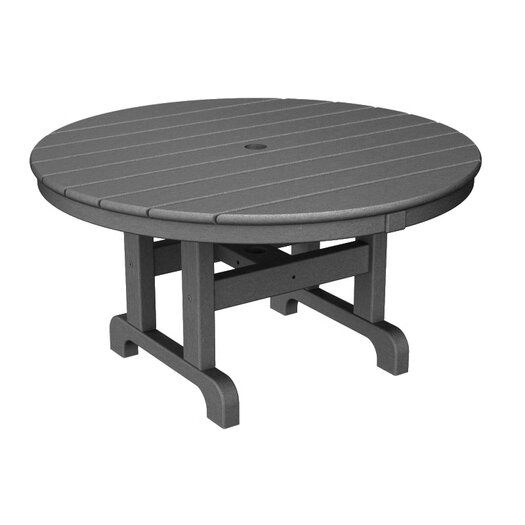 POLYWOOD® Round Conversation Coffee Table