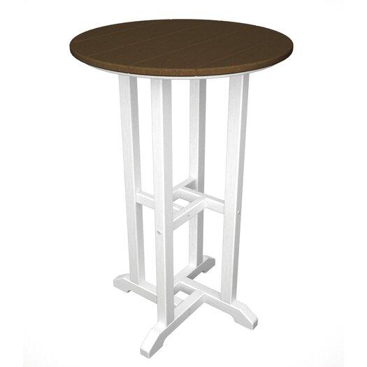 POLYWOOD® Contempo Round Counter Bar Table