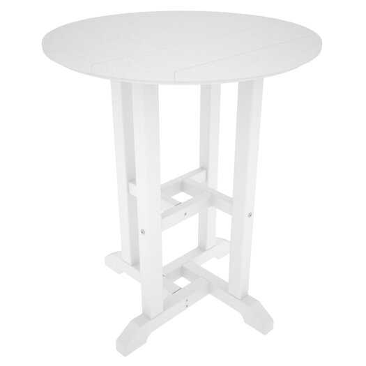 POLYWOOD® Traditional Round Dining Table