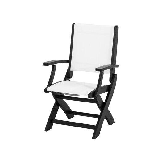 POLYWOOD® Coastal Folding Chair