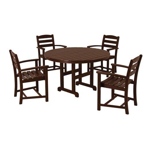 POLYWOOD® La Casa Cafe 5 Piece Dining Set