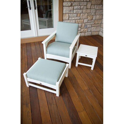 POLYWOOD® Club 3 Piece Deep Seating Set