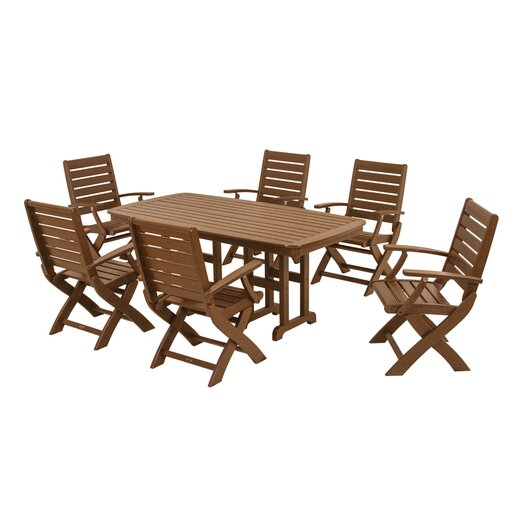 POLYWOOD® Signature 7 Piece Dining Set