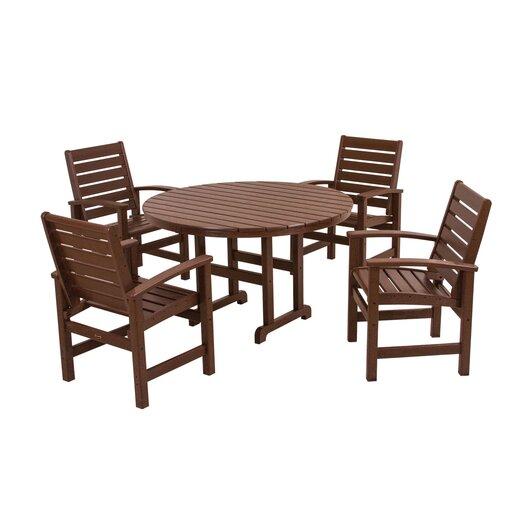 POLYWOOD® Signature 5 Piece Dining Set