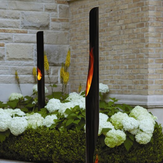 Decorpro Absolute Steel Bio Ethanol Outdoor Fireplace