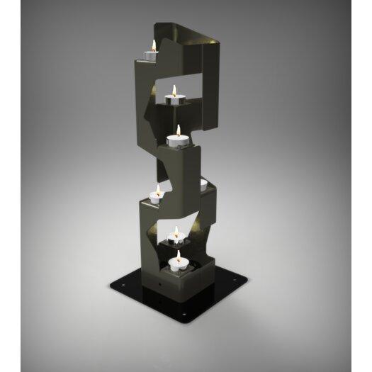 Decorpro Mirage Steel Tealight Candle Holder