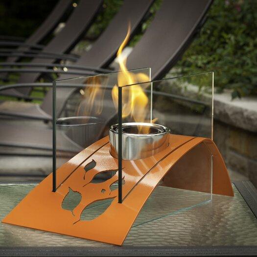 Twilight Steel Bio Ethanol Table Top Fireplace