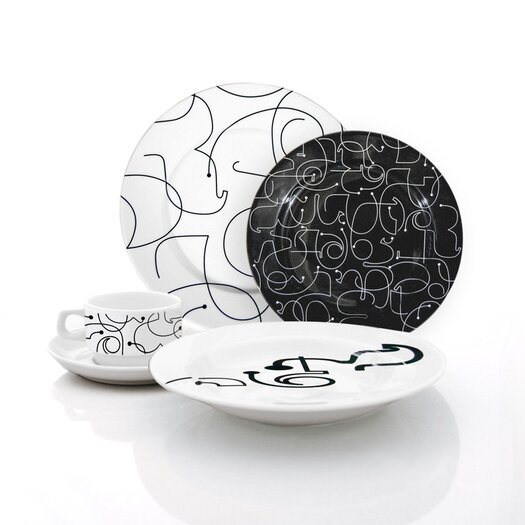 notNeutral Letters Cup and Saucer Set