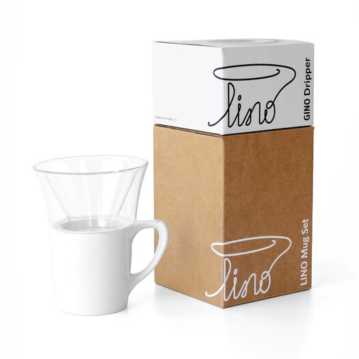 notNeutral Gino Pour-Over Dripper Coffee Server