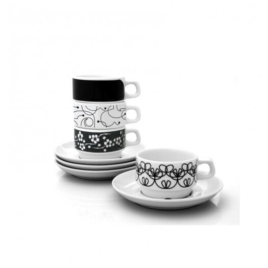 notNeutral In-The-Mix Cup and Saucer Set