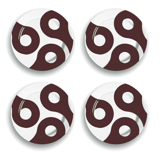 "notNeutral Links 8.25"" Salad Plate Set"