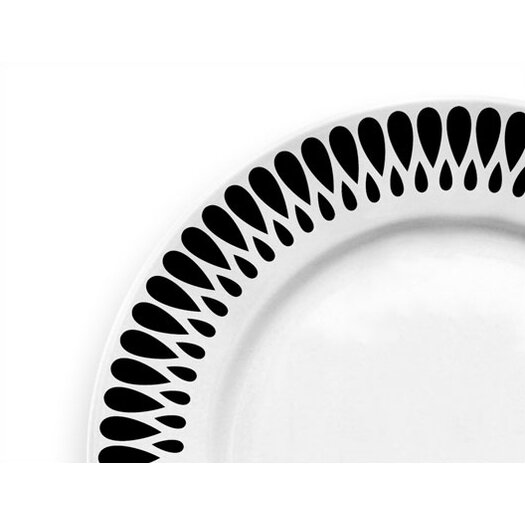 "notNeutral Ribbon 10.5"" Dinner Plate"