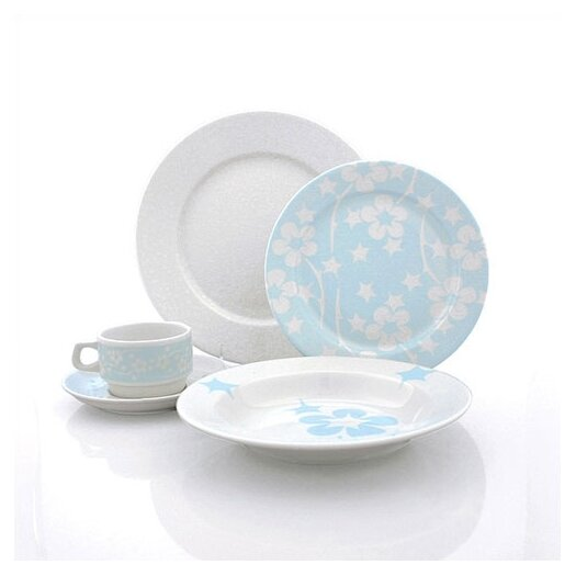 Flora 20 Piece Dinnerware Set