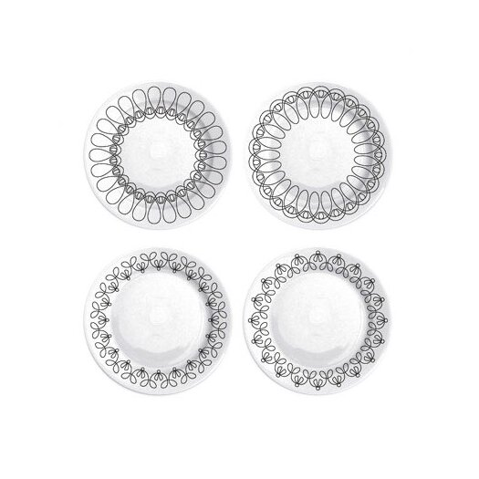 "notNeutral Ribbon 8.25"" Salad Plate Set"