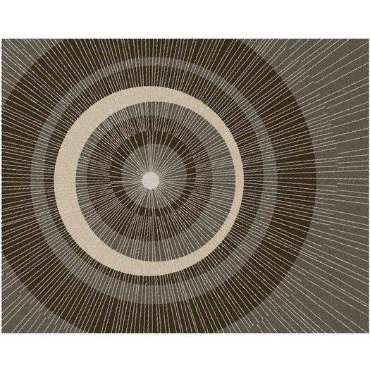 notNeutral Eccentric Brown/Tan Area Rug