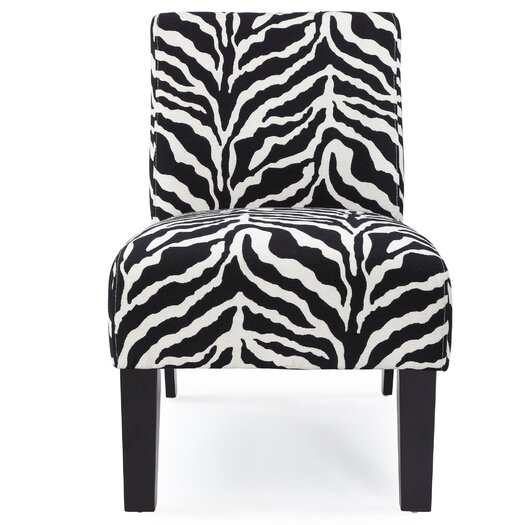 DHI Deco Zebra Slipper Chair