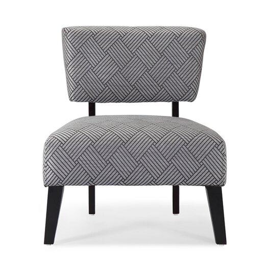DHI Delano Slipper Chair in Grey