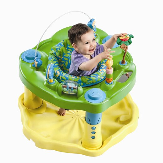 Evenflo ExerSaucer Bounce and Learn Zoo Friends Bouncer