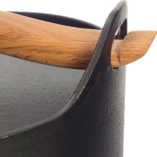iittala Sarpaneva Steel 3-qt. Cast Iron Round Casserole