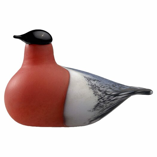 iittala Birds by Toikka Bullfinch Figurine