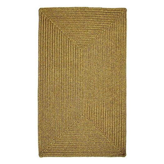 Homespice Decor Ultra-Durable Gold Solid Indoor/Outdoor Rug