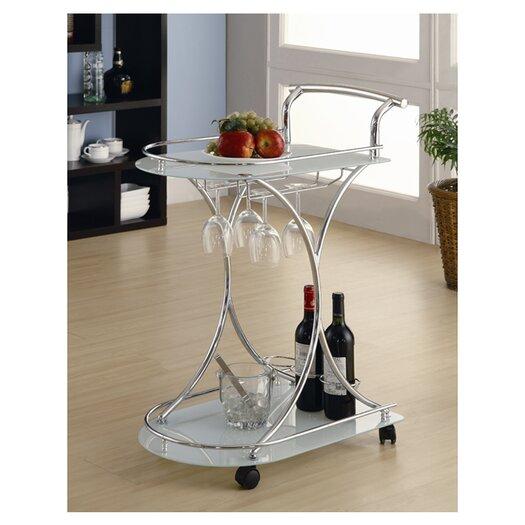 Wildon Home ® Whisper Serving Cart