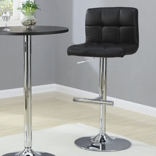 Wildon Home ® Groom Adjustable Height Bar Stool