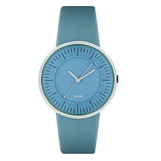 Alessi Luna Leather Watch