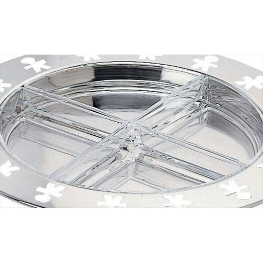Alessi Girotondo by King Kong Hors d'Oeuvre Divided Serving Dish