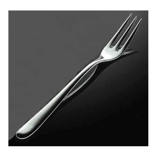 Caccia Pronged Table Fork in Mirror Polished by Luigi Caccia Dominioni