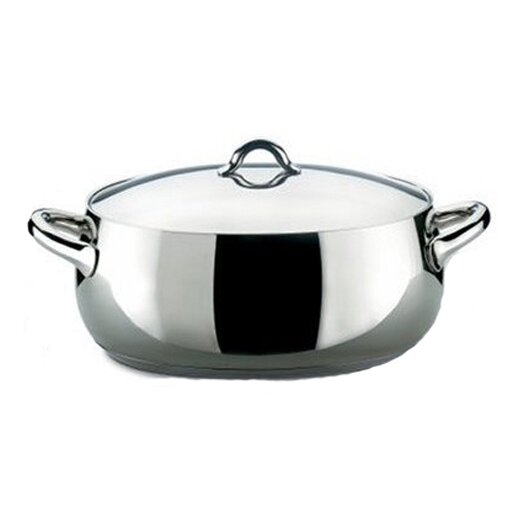 Mami 6.5-qt. Stainless Steel Oval Casserole