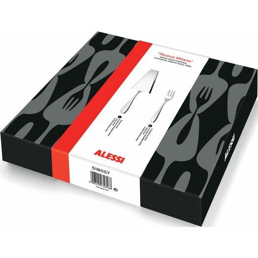 Alessi Nuovo Milano 7 Piece Flatware Set