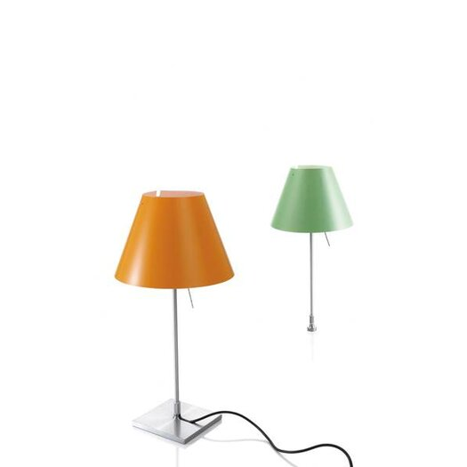"""Luceplan Costanzina 20"""" H Table Lamp with Empire Shade"""