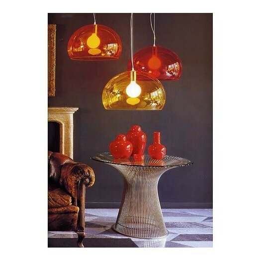 Kartell FL/Y 1 Light Suspension Lamp