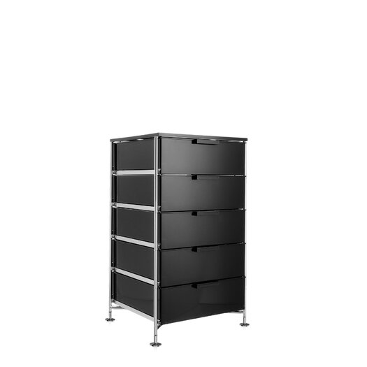 "Kartell Mobil 19.25"" Storage Container with 5 Drawers"