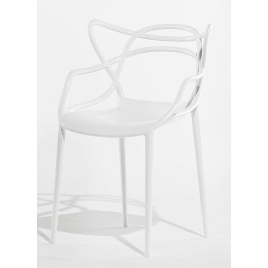 Masters Chair in White (Set of 2)