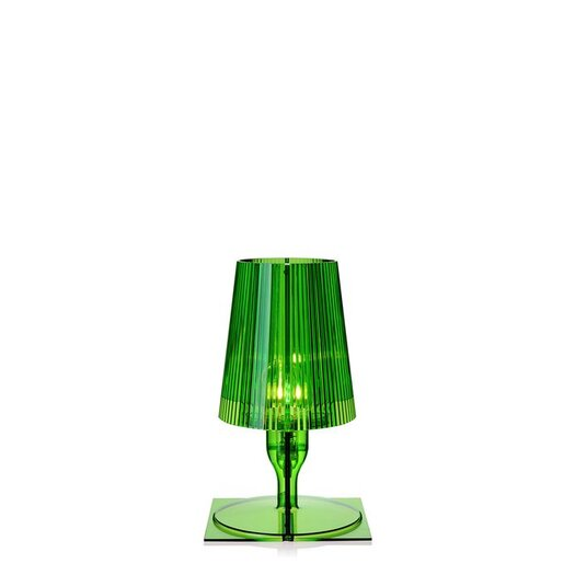 """Kartell Take 12"""" H Table Lamp with Empire Shade"""