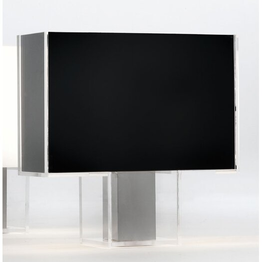 """Kartell Tati 18.1"""" H Table Lamp with Rectangle Shade"""