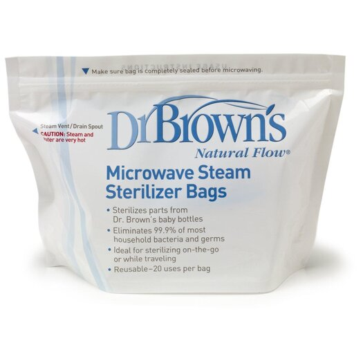 Dr. Brown's Microwave Steam Sterilizer Bag