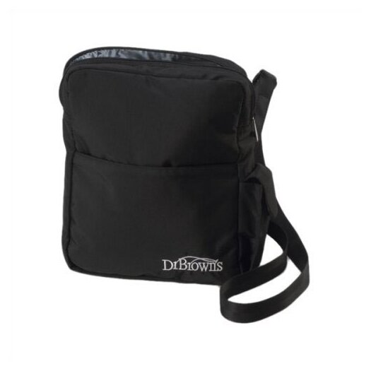 Dr. Brown's Insulated Bottle Tote Bag in Black